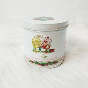 Vintage Strawberry Shortcake Tin